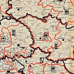 Deutsches Reich Karte 1943.Das Netz Der Gestapo Deutsches Reich Geschichtsort Hotel